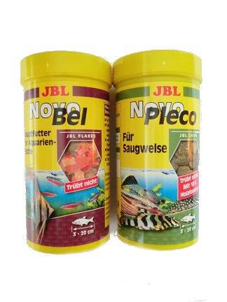 JBL Novo bel 250ml & JBL Novo Pleco 250ml