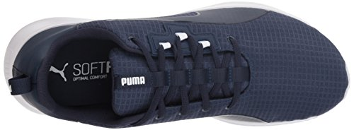 PUMA Men s Tishatsu Runner Sneaker  Peacoat White  7 5 M US