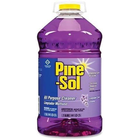 Pine-Sol All Purpose Cleaner - Liquid Solution - 144 fl oz (4.5 quart) - Lavender (Pine Sol All Purpose Cleaner)