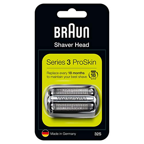 Braun Series 3 32S Elektrischer Rasierer Scherkopfkassette - Silber