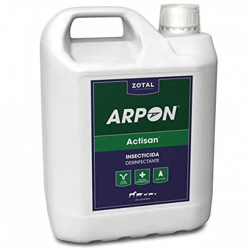 Actisan desinfectante/insecticida contra todo tipos de insectos y ácaros. Limpia y desinfecta espacios y maquinaria. Zotal