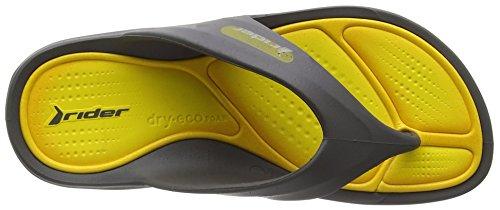 RiderCape VII - Ciabatte Unisex - Bmbini Grigio (Grey (Grey 22853))