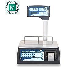 Balanza comercial con TICKETS Baxtran RTI30 (30Kg x 10g) (36x23cm) Pesada DUAL