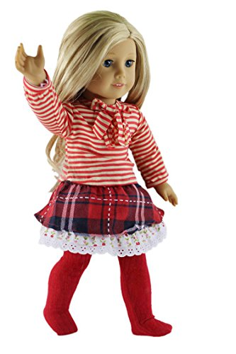Billig Qinsuee American Girl Doll Clothes Set for American Girl, Our ... d3995bbd15