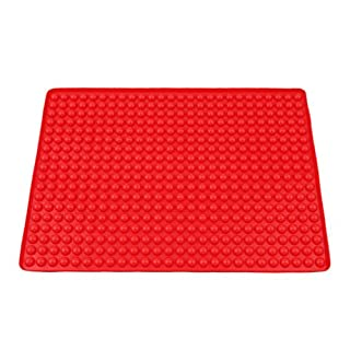 Collory Silikon Backmatte Noppen Backunterlage Backform Hundekekse Leckerlies Backbleche & -formen Backbleche