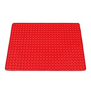 HENGSONG Silikon Backunterlage Backpapier Teigmatte Backmatte Teigunterlage Ausrollmatte