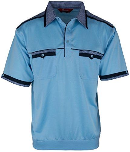 Verschieden Muster und Farbe Langarm-Poloshirt für Herren von SOUNON