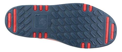 Dunlop K151710 Unisex-Kinder Gummistiefel, Mini-Elefant, Gummistiefel, wasserdicht Red/Bl