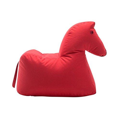 Sitting Bull 190402 Happy Zoo Lotte Pferd Sitzsack, Rot 100{2d688c89e3d4a8d44bce09519b9b982ca47f5e1049440a793cd62b14778499ea} Polyester Beschichtet LxBxH 81x67x37cm