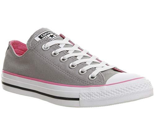 CONVERSE Designer Chucks Schuhe - ALL STAR -, Grau/Rosa, 36 EU (Converse Rosa Schuhe Mädchen)