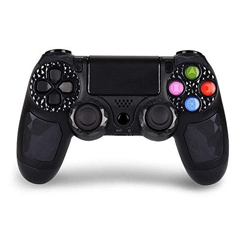 LUYION PS4 Senza Fili Gamepad Bluetooth Controller di Gioco con Touch Pad | Jack Stereo per Cuffie | Dual Shock Joypad High-Precison Telecomando da Gioco per Playstation 4