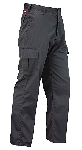Lee Cooper LCPNT205 Cargo Pant - Arbeitshose (Grau, 40/32)