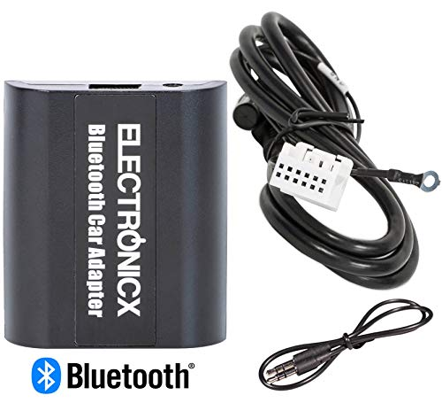 Electronicx BTA-VW12 Bluetooth AUX Adapter Freisprecheinrichtung USB-Ladebuchse passend für VW Audi Skoda -