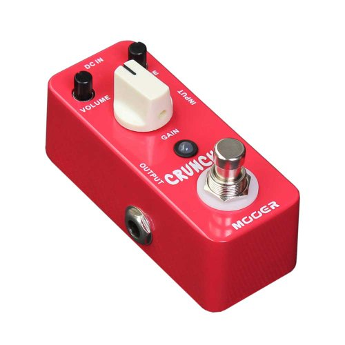 MOOER CRUNCHER – PEDAL DE DISTORSION PARA GUITARRA ELECTRICA