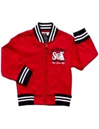 SRK-Sweat teddy niño 3/8 años ECYTEL38- rojo-8 años