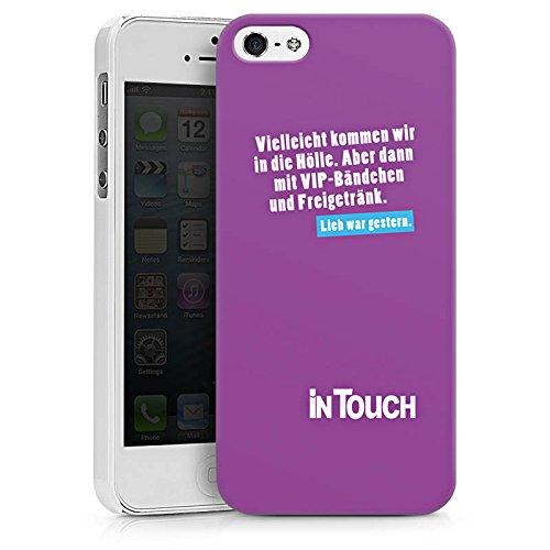 Apple iPhone X Silikon Hülle Case Schutzhülle Hölle VIP Sprüche Hard Case weiß