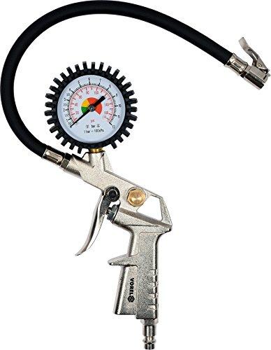 Reifenfüller geeicht Reifendruckmessgerät Luftdruckprüfer Druckluft 0-6,9 BAR