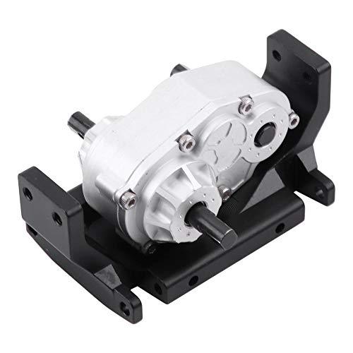 Getriebe-Verteilergetriebe mit Halterung, Metall-Verteilergetriebe mit Halterung für SCX10 / D90 1/10 RC-Raupenkettenzubehör Ersatzteile