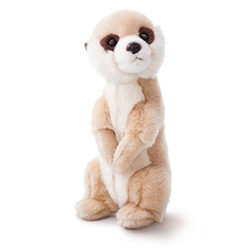 Image of Aurora World Luv to Cuddle Meerkat Plush Toy (Light Brown/White)