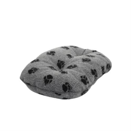 Bild von: Danish Designs Sherpa Fleece Pet Matratze, gesteppt, 101cm, grau