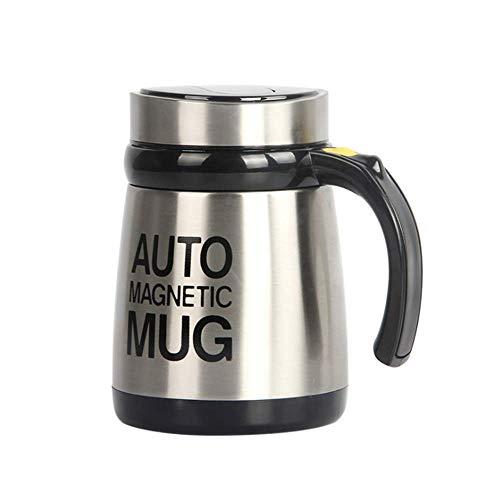 YLRJ Automatic Mixing Coffee Cup - Automatischer Mixbecher Aus Edelstahl - Zum Mischen Von Kaffee, Tee, Heißer Schokolade, Milch -