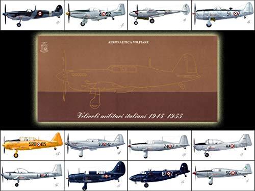 velivoli storici italiani 1945 - 1955