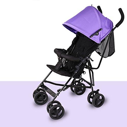 &Klappwagen Trolley Regenschirm Klapp-ultra-leichte tragbare sit Liege Baby Kinder Warenkorb (Farbe : 4#)