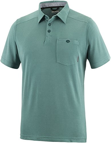 Columbia Herren Sun Ridge II Neuheit Polo T-Shirt Waterfall