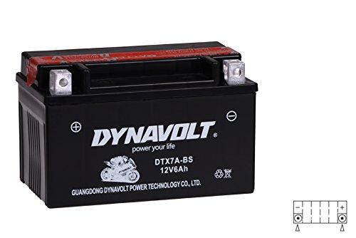 Wartungsfreie 12V Roller Batterie YTX7A-BS / DTX7A-BS incl.7,50 Batteriepfand - ATU Explorer - Adly - Baja - Baotian - Flex Tech - Fly Scooters