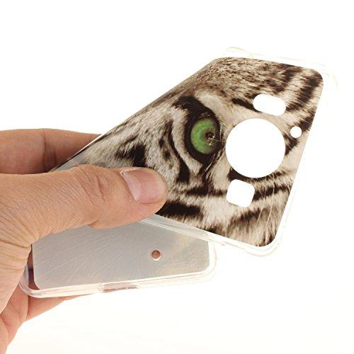 Guran® TPU Silikon Hülle für Apple iPhone 7 (4,7 Zoll) Smartphone Gemalt Schutzhülle Cover-Windspiele color a13