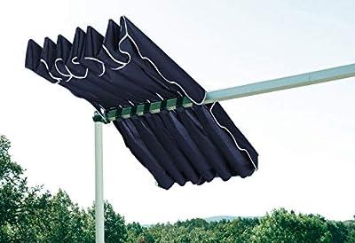 Quick-Star Ersatzdach Ziehharmonika Dubai Markise Blau von Quick-Star GmbH auf Gartenmöbel von Du und Dein Garten