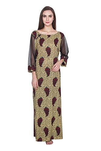 Klamotten Women Long Cotton Nightwear 239N19