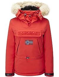 Napapijri Skidoo Red Hot - Chaqueta de mujer, rojo, XL