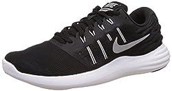 Men s Nike LunarStelos Running Shoe Black/Metallic Silver/Anthracite/White 11 D(M) US