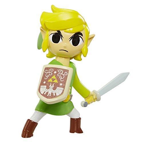 Mario Bros - World of Nintendo Zelda Link figura, 6 cm (Jakks Pacific