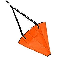 MagiDeal 1 Pieza de Ancla de Mar para Barcos de Motor de Vela Yate Kayak Jet Ski Portátil Duradero de Diseño Compacto de PVC de Naranja