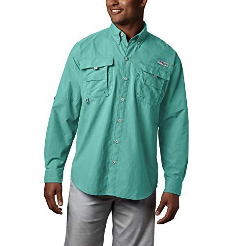 Slush-boot (Columbia Herren PFG Bahama II Langarmshirt, Herren, Men's PFG BahamaTM II Long Sleeve Shirt, Gulf Stream, X-Large)
