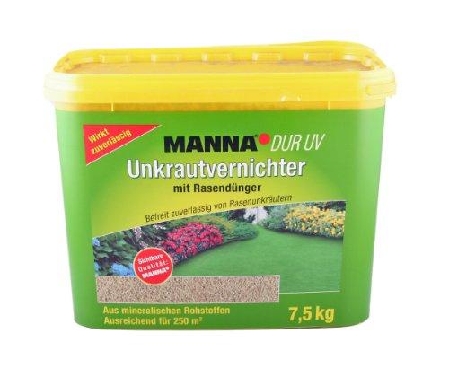 MANNA® DUR UV Unkrautvernichter mt Rasendünger 7,5 kg