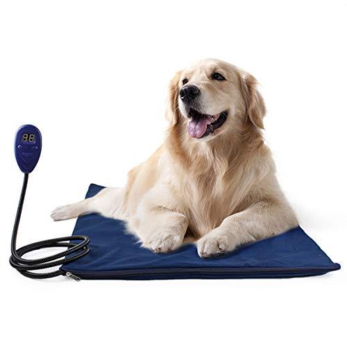 PETCUTE Haustier Heizkissen heizdecke Heizkissen für Hunde und Katzen Heizmatte Wärmematte Haustier Heizdecke für Hunde