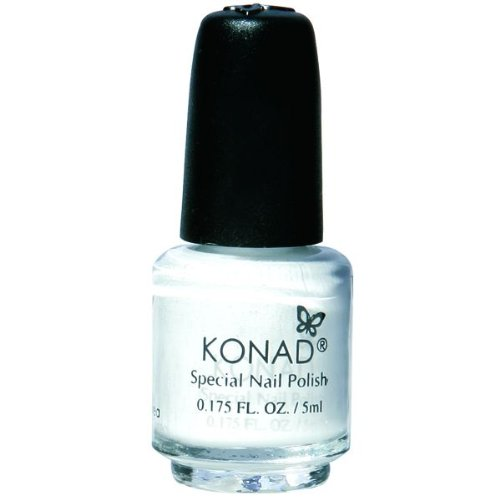 Konad Nail Art Special Polish, White, 5ml