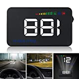 GOFORJUMP Head Up Display A500 Car Speed Projector 3.5Inch Universal Car-styling Windshield OBD2
