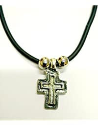 Cristiano ortodoxo griego Religiosa Colgante metálico con Cruz–Crucifijo/13