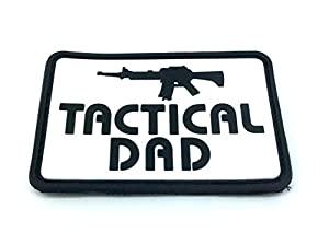 Tactical Dad Airsoft PVC Moral Patch