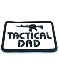 Tactical Dad Airsoft Velcro PVC Moral Parche