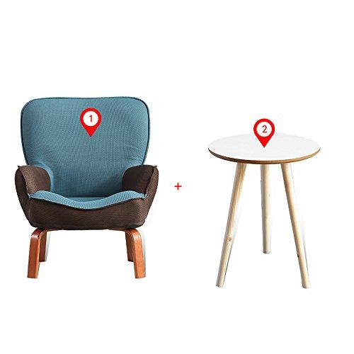 ZHANGRONG- chaise pour enfants Enfants Kids Sofa Set Fauteuil Fauteuil avec repose-pieds -Tabouret de canapé (Couleur : G, taille : Chair and table)
