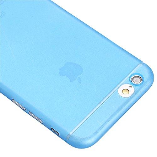 Phone case & Hülle Für IPhone 6 Plus / 6S Plus, Ultrathin Kameraschutz Design Translucence PP Gehäuse Cover ( Color : Grey ) Blue