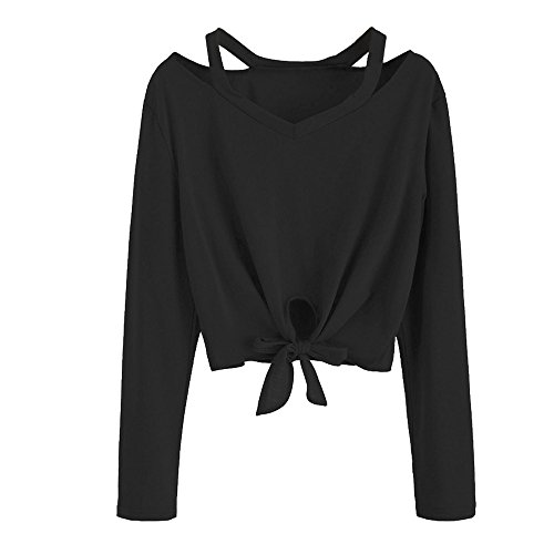FRYS Sweat Shirt Fille Courte Pull Femme Hiver Chic Mode Manteau Femme  Grande Taille Vetement Femme 18c92a0e9d67