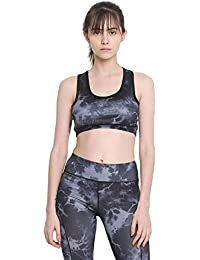 470689ea0e135 CHKOKKO Sports Gym Running Racer Back Non Wired Padded Sports Bra for Women