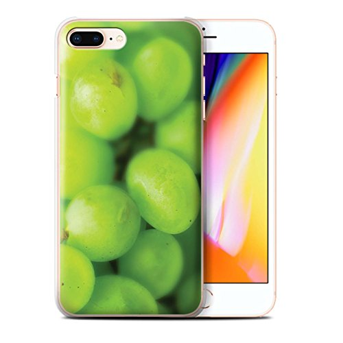 Stuff4 Hülle / Case für Apple iPhone 8 Plus / Erdbeere Muster / Obst Kollektion Trauben