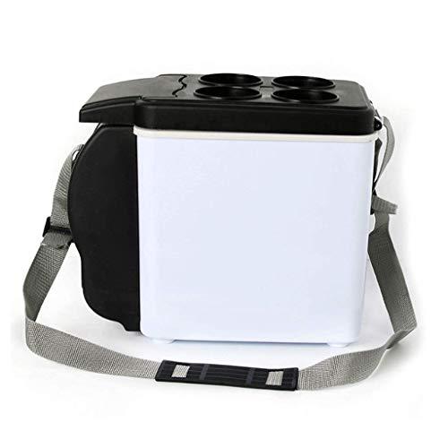 Licy Refrigerador del Coche Refrigeración Calefacción Mini refrigerador pequeño 6L para vehículos...
